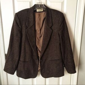 Alfred Dunner Wool Jacket Size 12